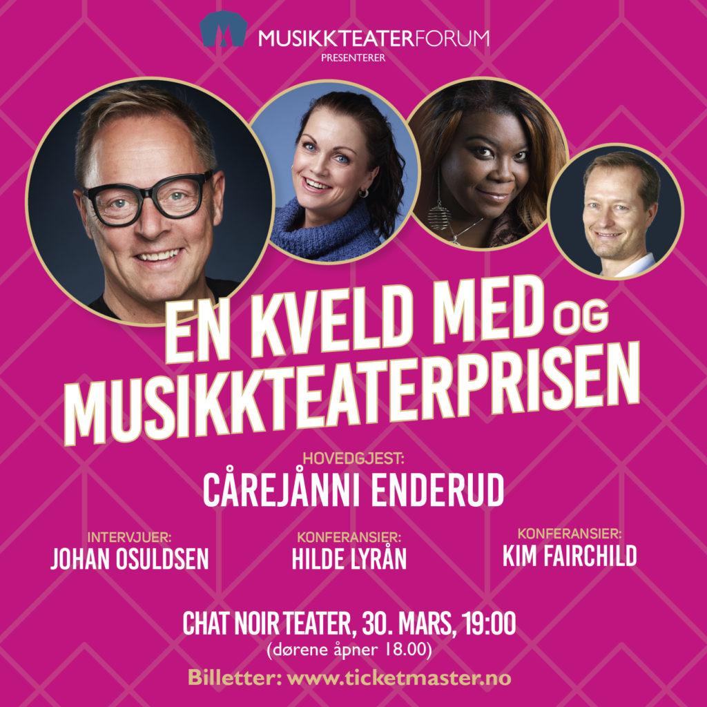 En kveld med og Musikkteaterprisen 2020