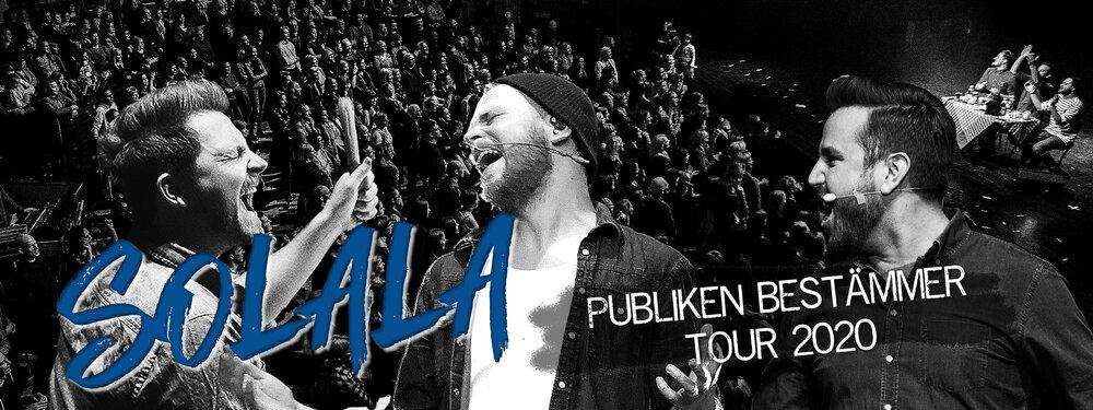 Solala: Publiken bästemmer tour 2020
