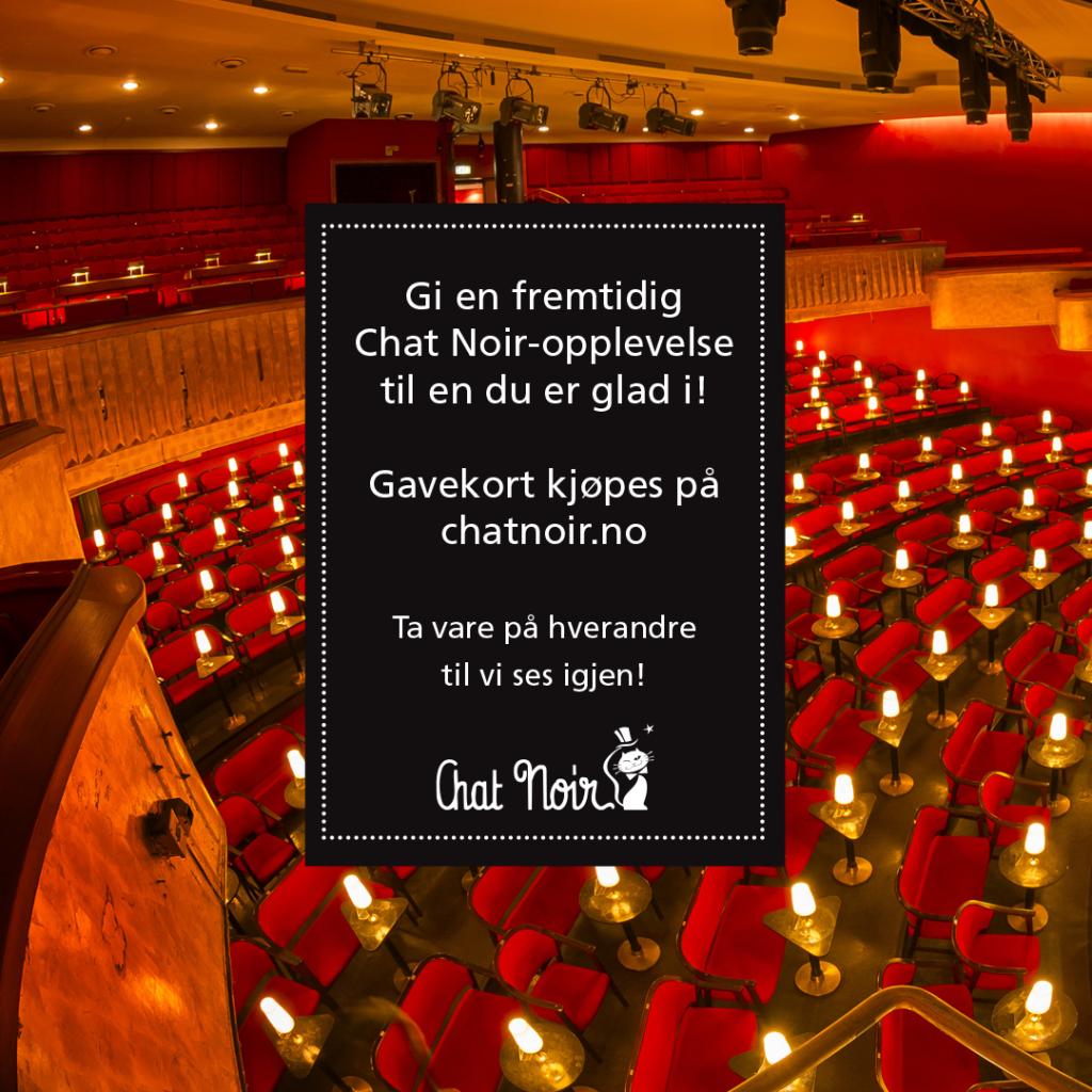 Gavekort – Chat Noir