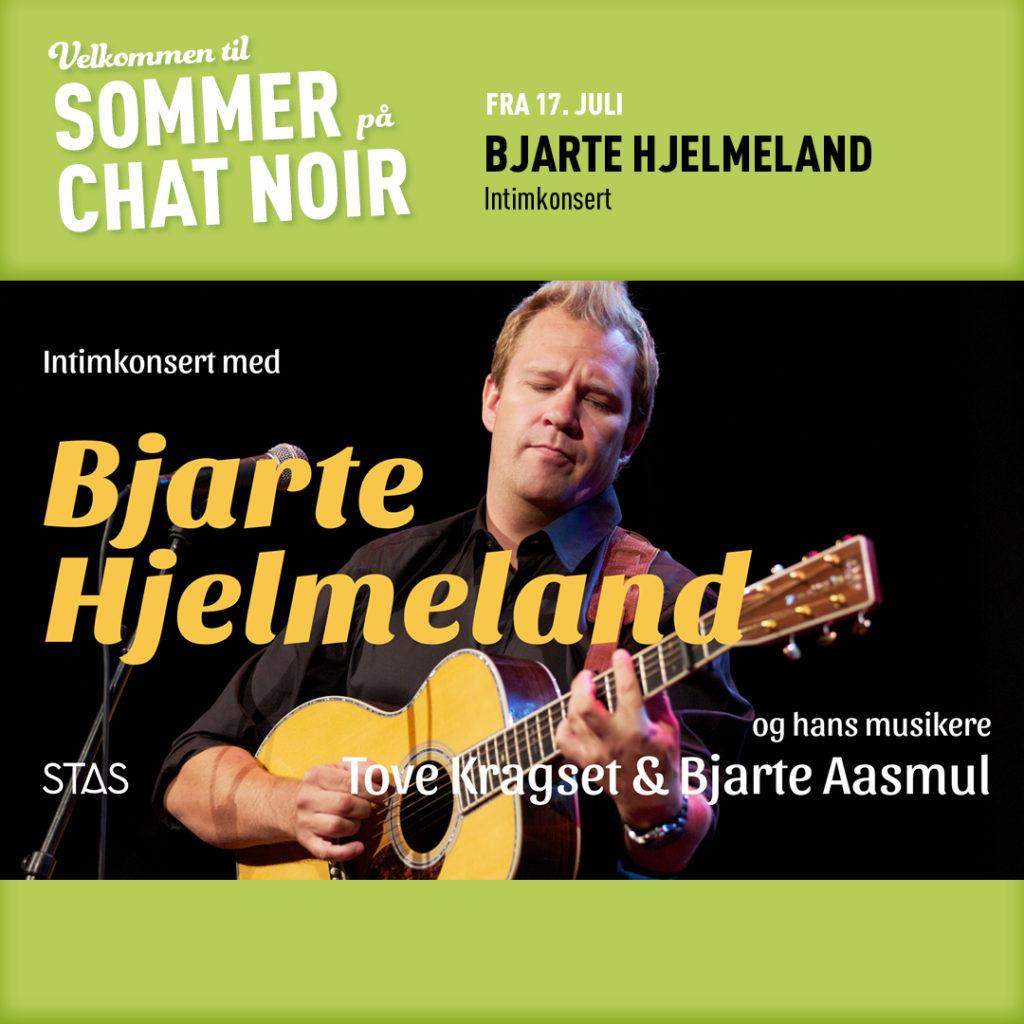 Sommer på Chat Noir: Bjarte Hjelmeland – intimkonsert
