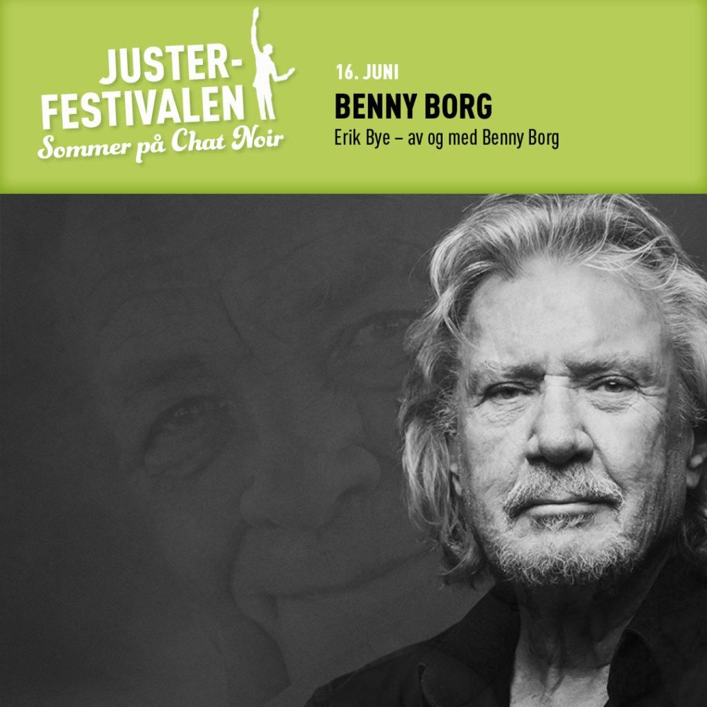 Erik Bye – av og med Benny Borg, basert på boken «Erik Bye» av Asbjørn Bakke