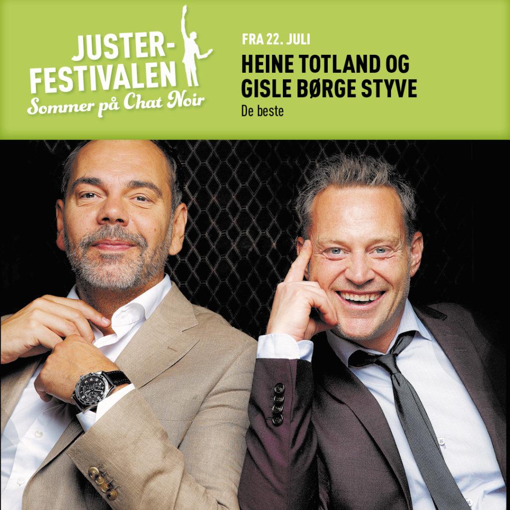 De beste m/Heine Totland og Gisle Børge Styve